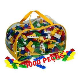 Blocos De Montar 1000 Peças - Brinquedo Educativo