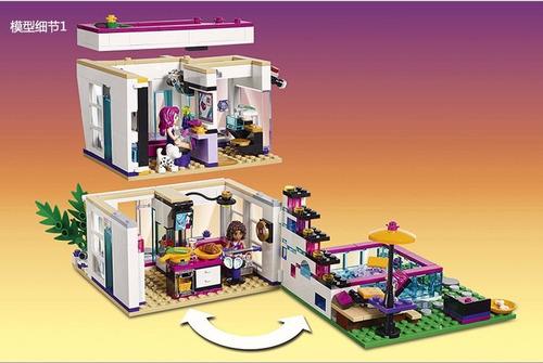 blocos de montar casa de boneca para menina friends! oferta!
