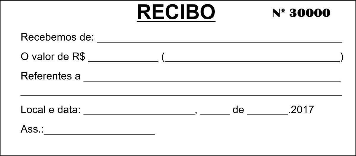 Blocos pedido arrecada o recibo e outros 14 x 6 cm for Modelo nomina autonomo