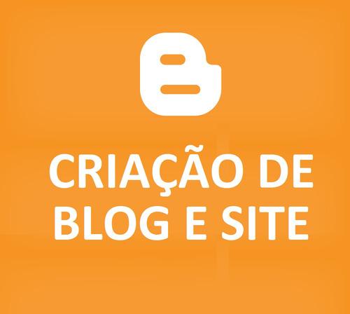 blog e site profissional blogspot blogger completo