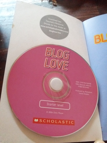 blog love chris moore + audio cd