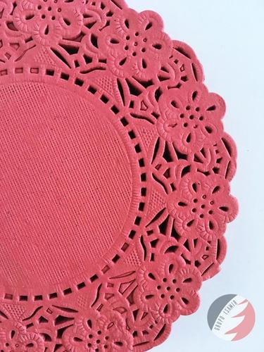 blondas colores 12.5cm 40pzs rojo verde azul rosa morado