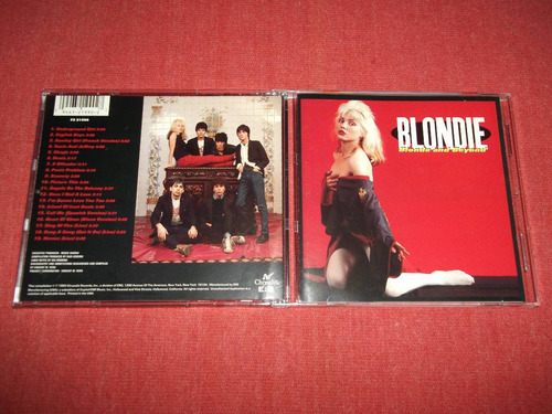 blondie - blonde and beyond cd usa ed 1993 mdisk