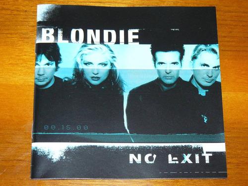 blondie no exit  cd rock