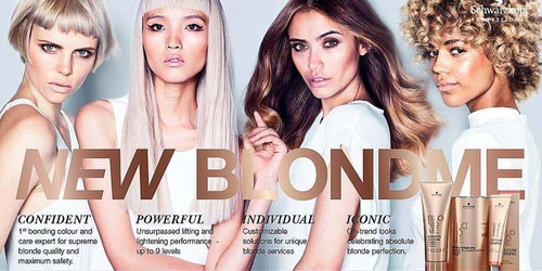 blondme schwarzkopf decolorante 9+dust free x 450 gr