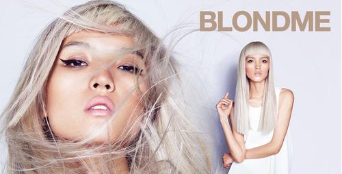 blondme schwarzkopf decolorante 9+ x  60 gr + oxigenta 100ml