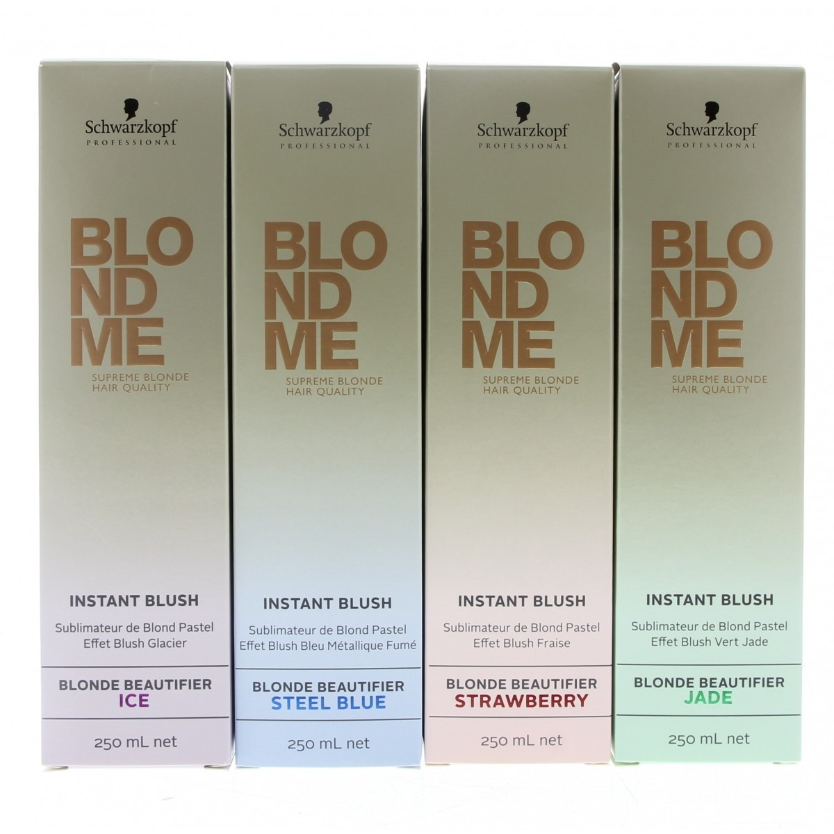 blondme schwarzkopf tinte instant blush ice gris plata en mercado libre. Black Bedroom Furniture Sets. Home Design Ideas