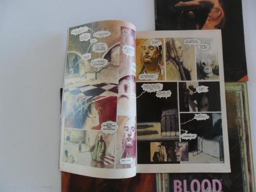 blood nºs 1 a 4! editora abril  1990!