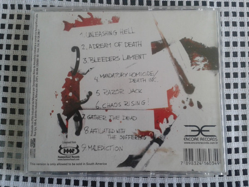 blood red throne ¿ affiliated with the suffering cd brazil