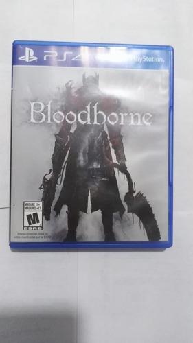 bloodborne playstation 4 fromsoftware/perfecto estado ingles