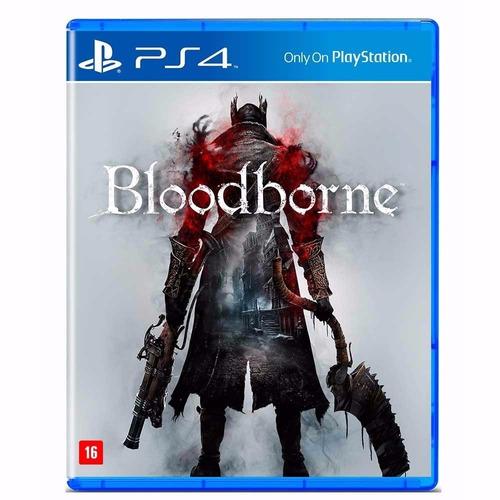 bloodborne ps4 midia fisica novo lacrado em pt br. Carregando zoom. 144de4a55d7b1