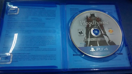 bloodborne - ps4 - playstation 4 - usado en buen estado