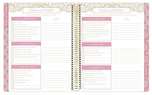 bloom daily planners sin fecha planificador de la boda tap
