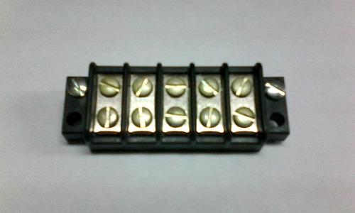 bloq regleta terminal marino 5 circuitos 20a 300v mod 7800-5