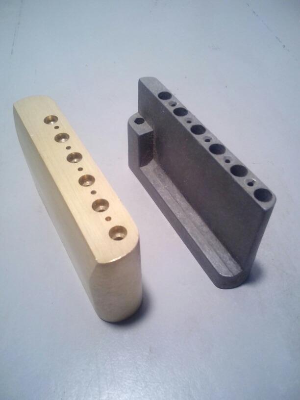 Bloque Block Sustain Bronce Puente Tremolo Stratocaster