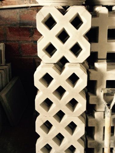 bloque cemento reforzado césped 33 x 33 x 6 h cm factura a