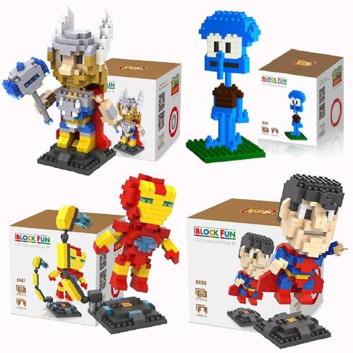 bloque construccion tipo lego heroes star wars vario modelo