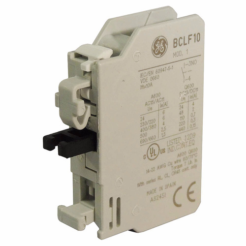 bloque de contacto auxiliar bclf10 normalmente abierto ge