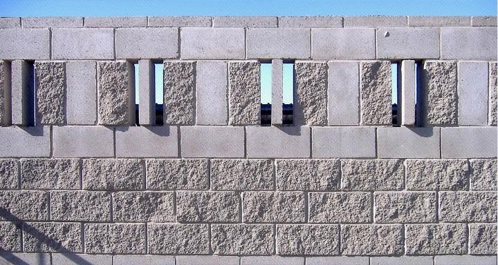 bloque de hormign simil piedra para muro sp
