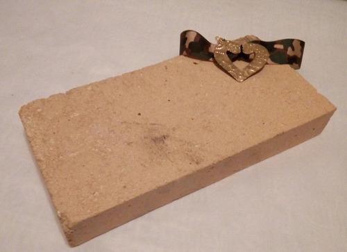 bloque de soldar fire brick (orfebreria)