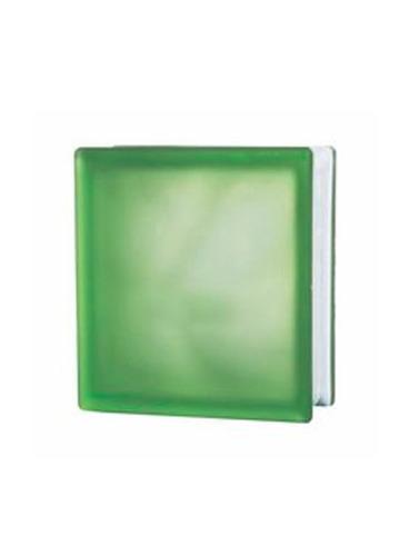 bloque de vidrio misty  cloudy green  190*190*80 jinghua (ue