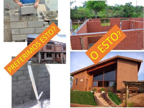 bloque ecológico tipo lego sismoresistente