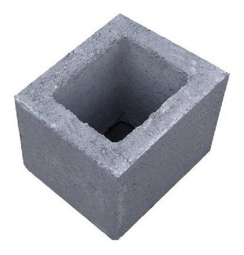 bloque ladrillo de cemento medio 19x19x19