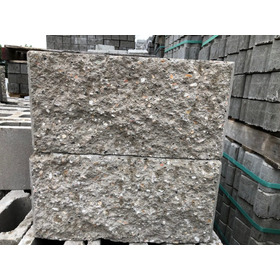 Bloque Ladrillo Hormigon Simil Piedra 12 X 19 X 39