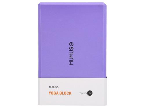 bloque para yoga - morado