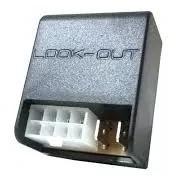bloqueador alarme automotivo saída para sirene led indicador