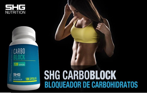 bloqueador de carbohidratos shg carbo block