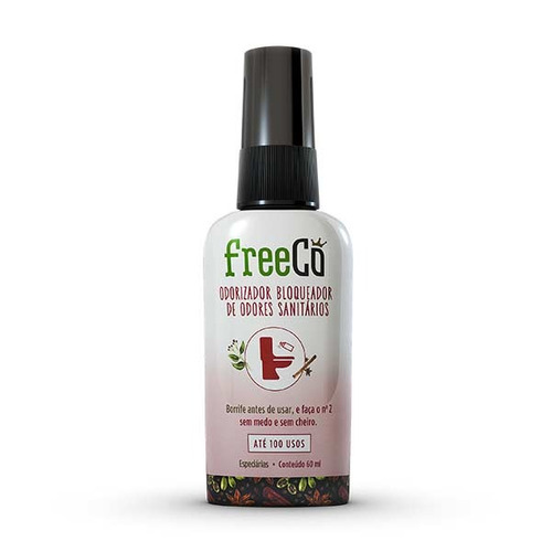 bloqueador de odores sanitarios freecô especiarias 60ml