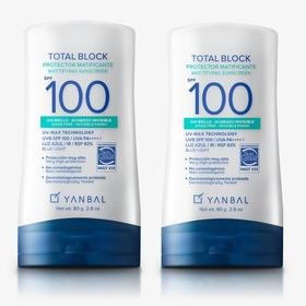 Bloqueador Matificante Total Block Spf 100 Yanbal  X2