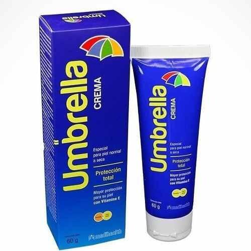 bloqueador solar umbrella protector crema alta proteccion
