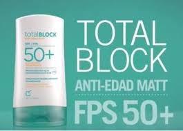 bloqueador solar yanbal total block