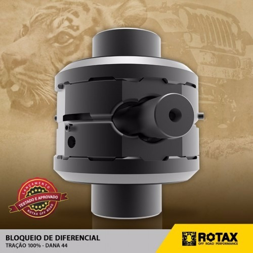 bloqueio rotax diferencial jeep rural f75 willys dana 44