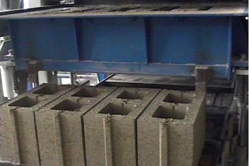 bloquera, máquina automática para fabricar block de cemento