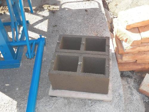 bloqueras-mezcladoras-moldes-todo para bloques de hormigon