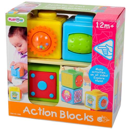 bloques abc bebés niños juguete lúdico infantil play go