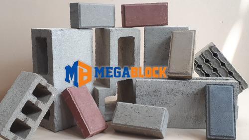 bloques adoquines y ladrillos de concreto