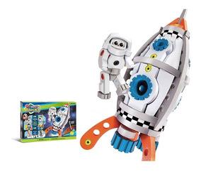 Bloques Y Astronauta Arma Auto Nave Espacial Lunar Tu Propia eDYWE9IbH2