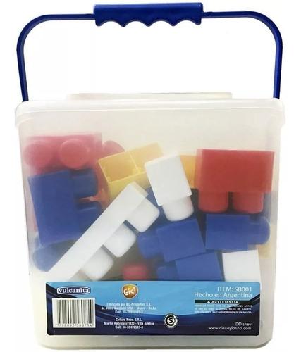 bloques con puzzle mickey 35 piezas caff sb001 educando