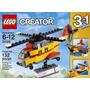 Lego Creator 3 En 1: Helicóptero, Avión Y Barco