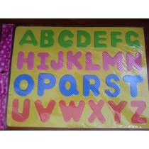 Foami Con Las Letras Del Abecedario Para Niños 33 Cm X 25 Cm