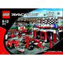 Lego Racers Ferrari F1 Pits Finish Line Modelo 8672 Vintage