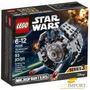 Lego Star Wars Microfighters 93 Pzs Nave Tie Prototipo 75128