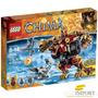 Lego Chima 415 Pzs Oso Demoledor Bladvic 3 Minifiguras 70225