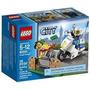 Lego City Policía Tras El Ladrón 60041