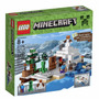 Lego Minecraft 21120: La Guarida En La Nieve