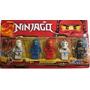 Set De 5 Figuras Ninjago Con Accesorios